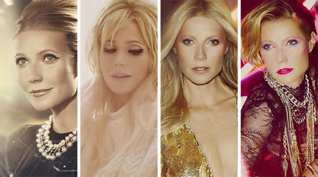 Gwyneth Paltrow Gets A Max Factor Decade Makeover